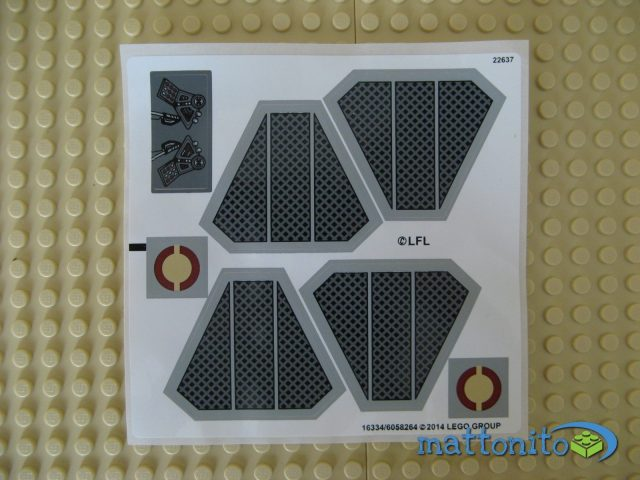 lego star wars 75038 jedi interceptor adesivi