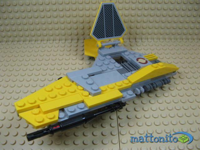 lego star wars 75038 jedi interceptor ala destra