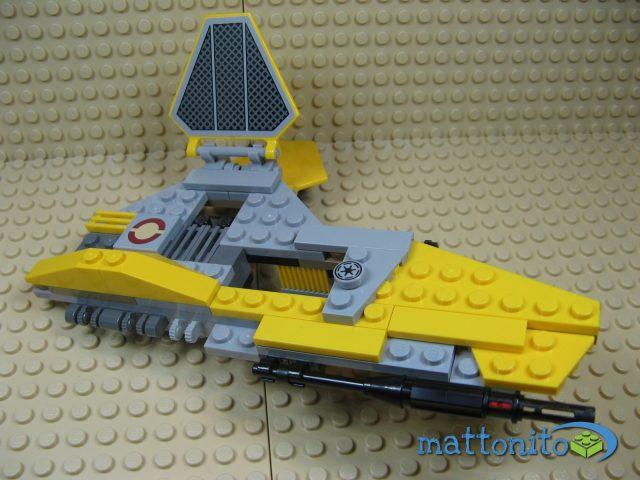 lego star wars 75038 jedi interceptor ala sinistra