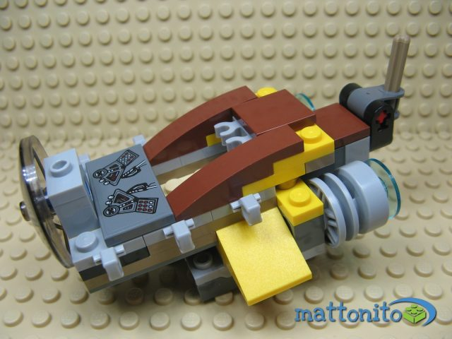 lego star wars 75038 jedi interceptor cabina