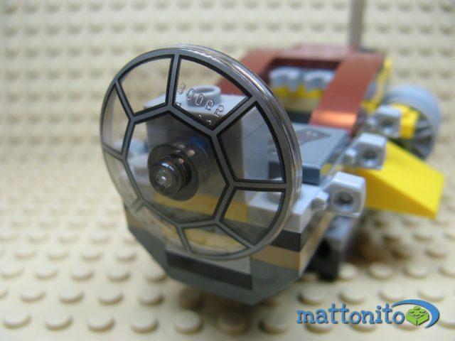 lego star wars 75038 jedi interceptor cabina muso