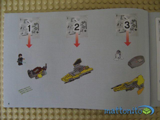 lego star wars 75038 jedi interceptor istruzioni 2