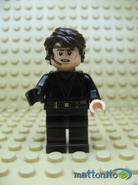 lego star wars 75038 jedi interceptor minifigure anakin skywalker