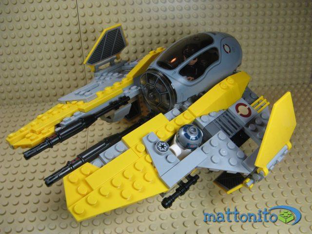lego star wars 75038 jedi interceptor nave