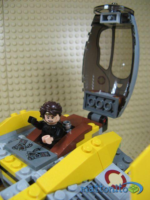 lego star wars 75038 jedi interceptor nave dettaglio cabina