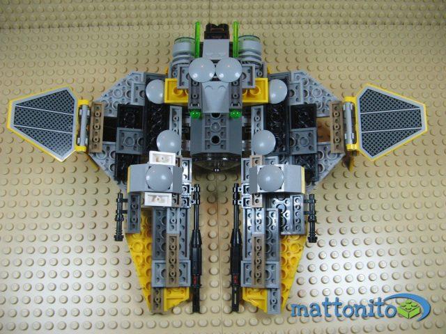 lego star wars 75038 jedi interceptor nave fondo