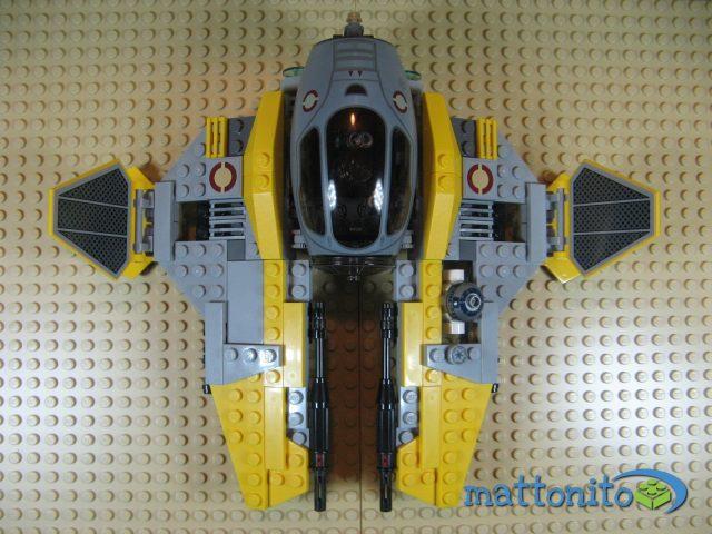 lego star wars 75038 jedi interceptor nave sopra