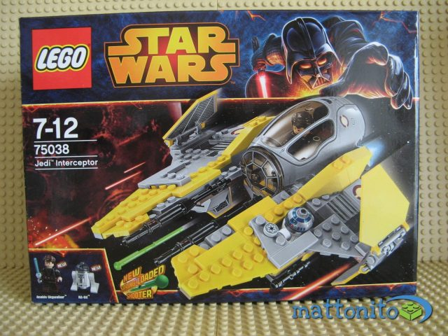 lego star wars 75038 jedi interceptor scatola