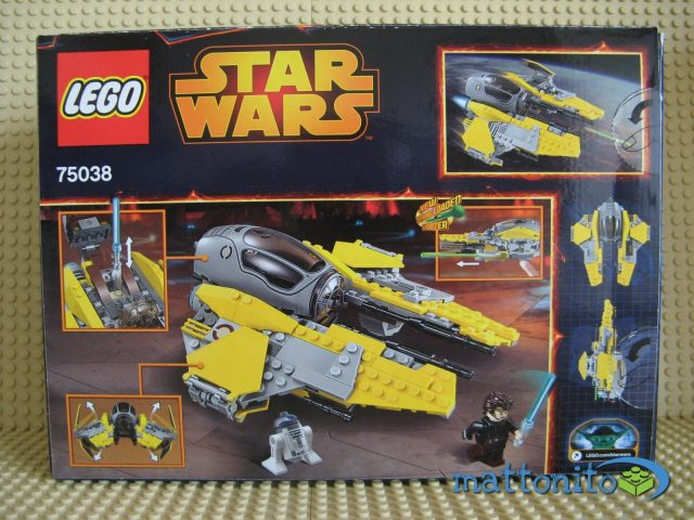 lego star wars 75038 jedi interceptor scatola retro