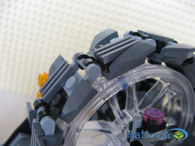 Dettaglio ruota con catena