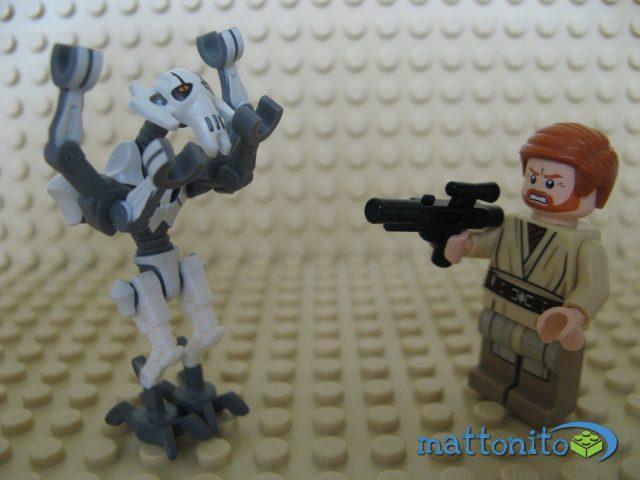 Obi-Wan arresta Grievous. Un finale alternativo?