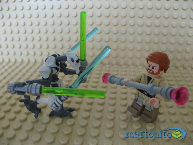Grievous contro Obi-Wan