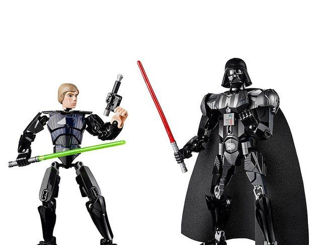 Luke Skywalker e Darth Fener