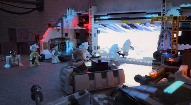 lego star wars hoth echo base ingresso
