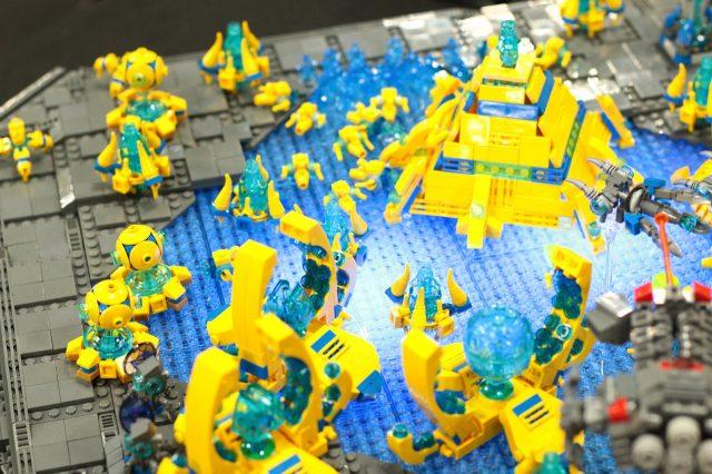 lego starcraft moc protoss dettaglio