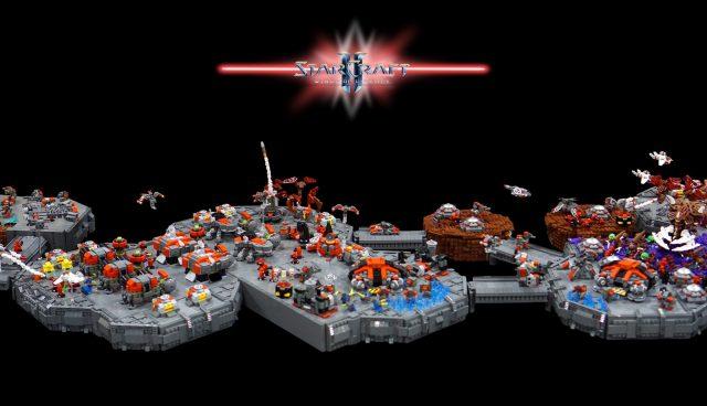 lego starcraft moc terran