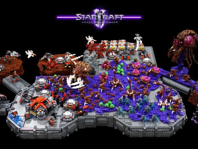 lego starcraft moc zerg