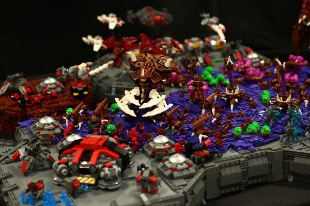 lego starcraft moc zerg dettaglio