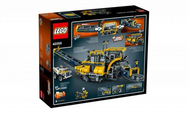 lego technic bucket wheel excavator 42055 b 952