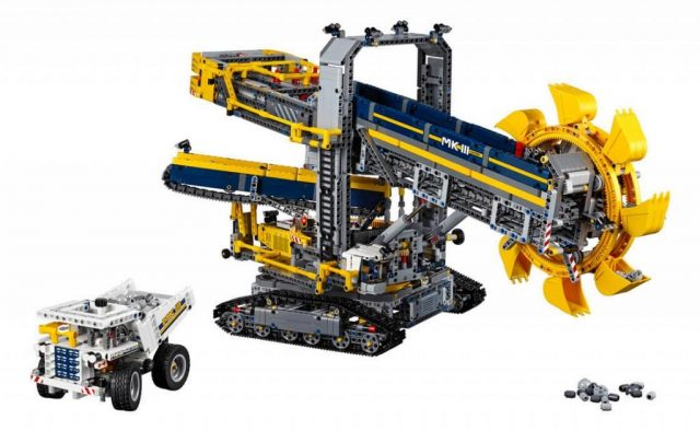 lego technic bucket wheel excavator 42055 c 288