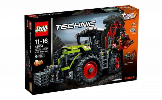 lego technic claas xerion 5000 trac vc 42054 857