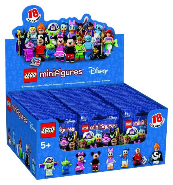 minifigure disney 71012 box 075