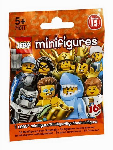 minifigure lego collezionabili serie 15 2