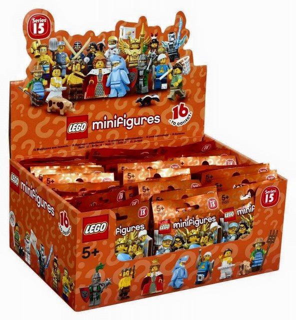 minifigure lego collezionabili serie 15