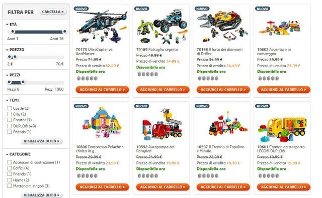 Sconti sul LEGO SHop