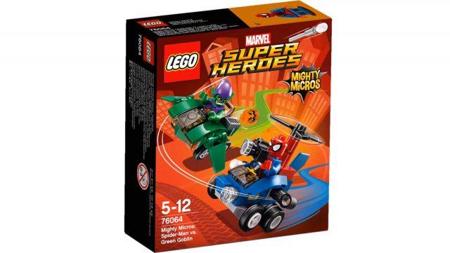 spider man vs green goblin 76064