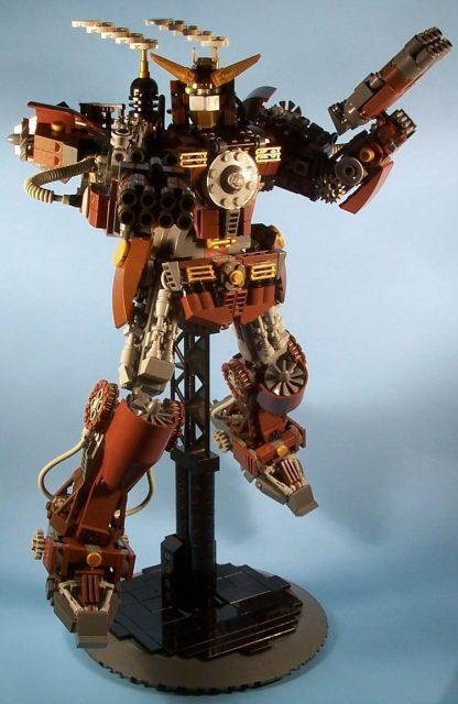 steampunk gundam 001