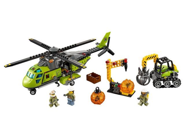 volcano supply helicopter 60123 3 863