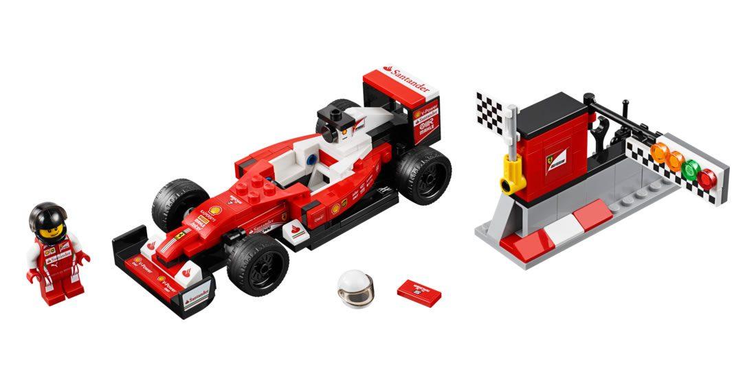 Scuderia Ferrari SF16 H (75879)
