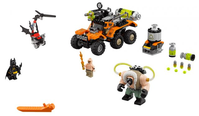 The LEGO Batman Movie Bane Toxic Truck Attack