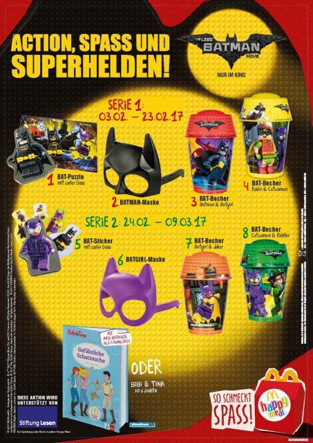 McDonald's The LEGO Batman Movie