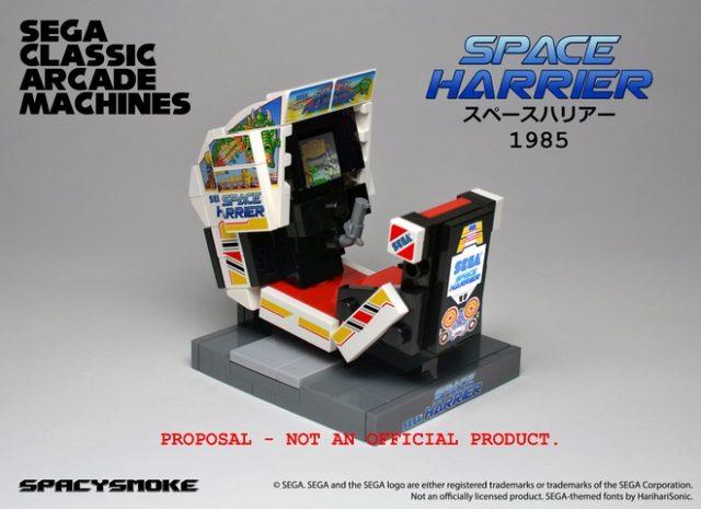 SEGA Classic Arcade Machines