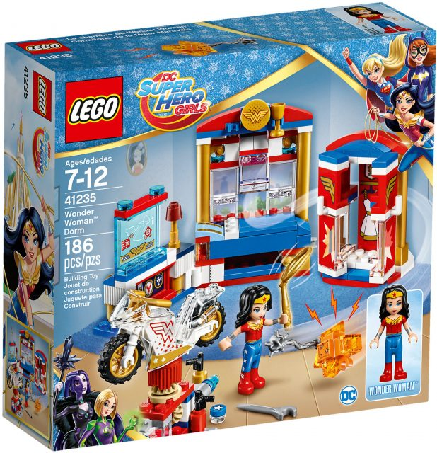 41235 - Il Dormitorio Di Wonder Woman