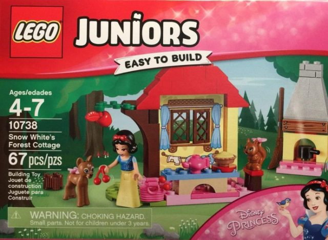 LEGO 10738 Snow White's Forest Cottage