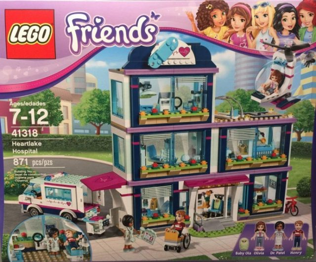 LEGO 41318 Heartlake Hospital