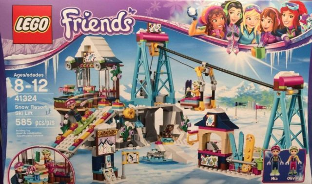 LEGO 41324 Snow Resort Ski Lift