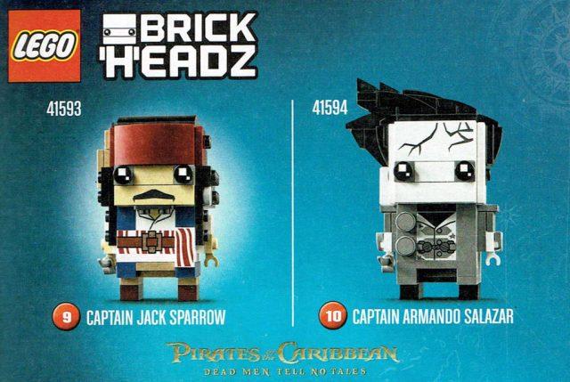 LEGO Brickheadz I Pirati dei Caraibi