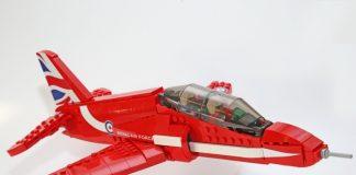 LEGO Ideas Red Arrows Hawk