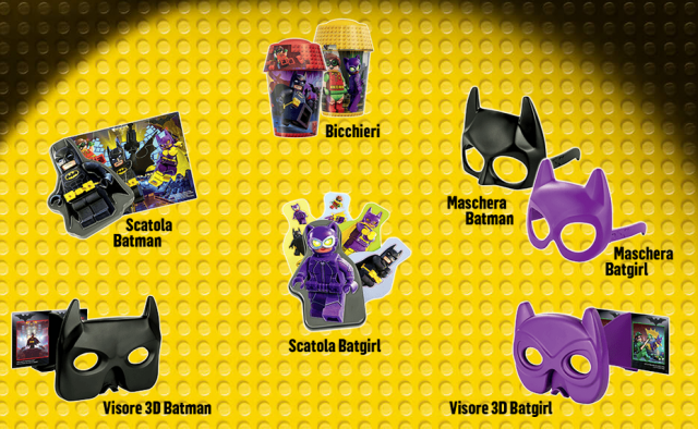 McDonald's The LEGO Batman Movie gadgets