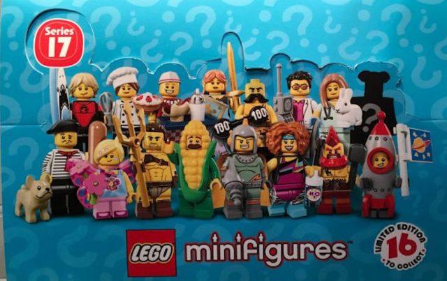 Minifigure LEGO Collezionabili Serie 17