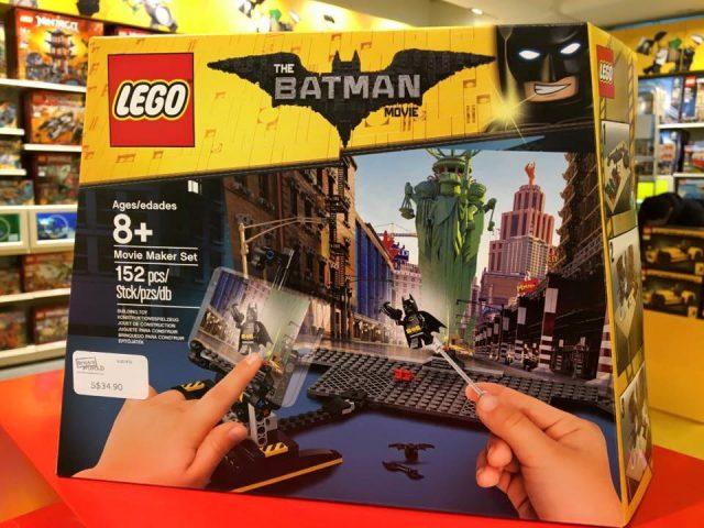 The LEGO Batman Movie Movie Maker Set