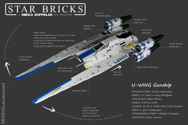 UCS LEGO Star Wars U-wing