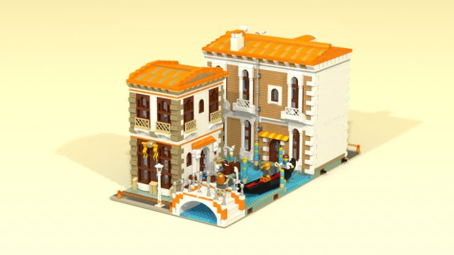 LEGO Ideas Venetian Houses