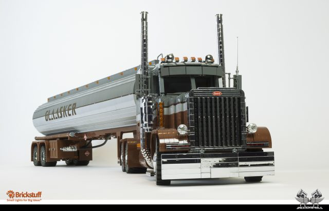 Peterbilt 379 and Polar Tanktrailer
