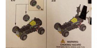 Istruzioni LEGO Mini Batmobile