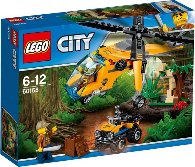 Jungle Cargo Helicopter (60158)